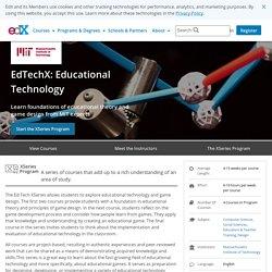 EdTechX: Educational Technology XSeries Program