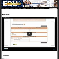 Tutoriel video :Edu-portfolio.org : Your electronic portfolio
