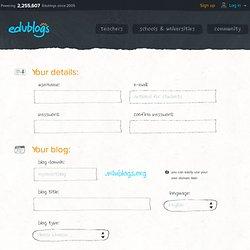 Cadastre-se-edublogs - blogs de educação para professores, estudantes e instituições