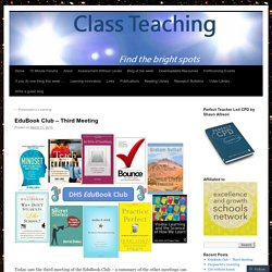 EduBook Club – Third Meeting
