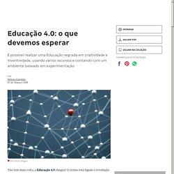 Educação 4.0: o que devemos esperar