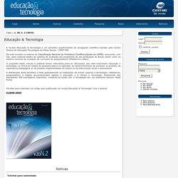 Periódico - Educação & Tecnologia