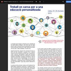 JORNADA Treball en xarxa per a una educació personalitzada