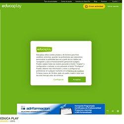 Test: EDUCA PLAY (educaciÓn - actividad educativa - educación infomática)