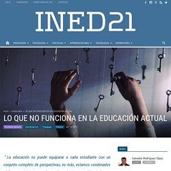 EDUCACIÓN ACTUAL - INED21