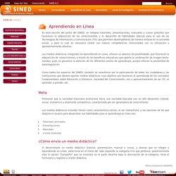 Sistema Nacional de Educación a Distancia - Aprendiendo en Línea
