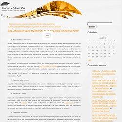 BLOG INNOVA&EDUCACIÓN » Archivo del weblog » Diez Conclusiones sobre el primer año de un aula piloto con iPads (II Parte)