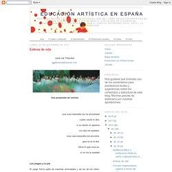 Educación artística en España: Esferas de vida