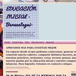 EDUCACIÓN INICIAL - Berazategui-: 24 de Marzo- DIA DE LA MEMORIA POR LA VERDAD Y LA JUSTICIA