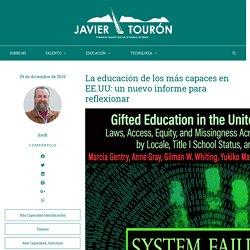 La educación de los más capaces en EE.UU: un nuevo informe para reflexionar