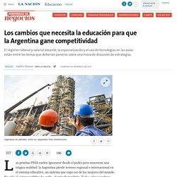 Los cambios que necesita la educación para que la Argentina gane competitividad - 06.03.2016 - LA NACION