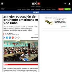 La mejor educación del continente americano es la de Cuba