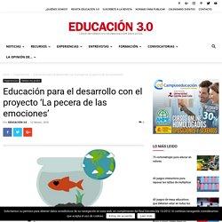 Educación para el desarrollo con el proyecto 'La pecera de las emociones'