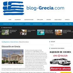 Educación en Grecia - Guía Blog Grecia