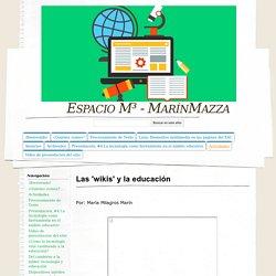Las 'wikis' y la educación - Espacio M³ - MarínMazza
