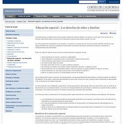 Educación especial - Los derechos de niños y familias - getting_started_autoayuda