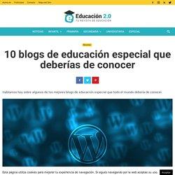 10 blogs de educación especial que deberías de conocer