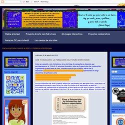 Educación Infantil: CINE Y EDUCACIÓN: LA FORMACIÓN DEL FUTURO ESPECTADOR
