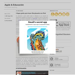 2 Apps gratis para hacer Storyboards con iPad