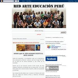 Red Arte Educación Perú: IMPORTANCIA DE LA EDUCACIÓN ARTÍSTICA