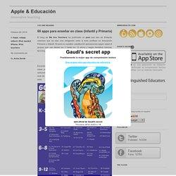 60 apps para enseñar en clase (Infantil y Primaria)