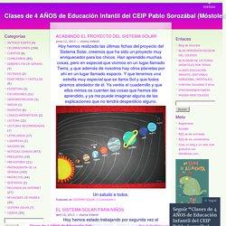 Clases de 3 AÑOS de Educación Infantil del CEIP Pablo Sorozábal (Móstoles)