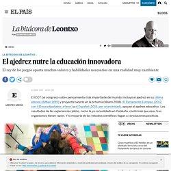 Ajedrez Educación: El ajedrez nutre la educación innovadora