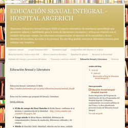 Educación Sexual y Literatura