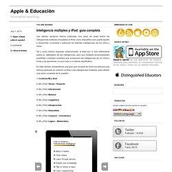 Inteligencia múltiples y iPad: guía completa
