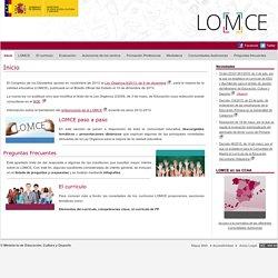 Educación > Lomce > Inicio