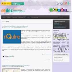 Blog de difusión del software libre en educación, metodologías basadas en proyectos y tareas y licencias Creative Commons