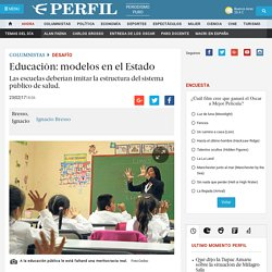 Educación: modelos en el Estado