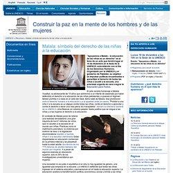 Malala: símbolo del derecho de las niñas a la educación