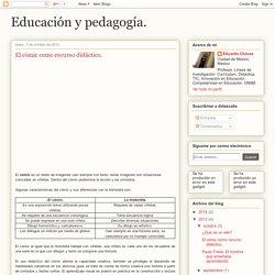 Educación y pedagogía.: El cómic como recurso didáctico.