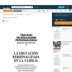 Garcia Hoz Victor - Educacion Personalizada En La Familia