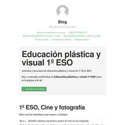 Educación plástica y visual 1º ESO – Blog