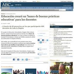 Educación creará un 'banco de buenas prácticas educativas' para los docentes