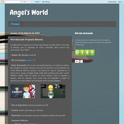 Angel's World: VR en Educación. Propuesta Didáctica