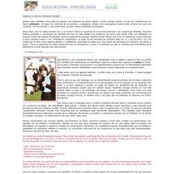 Educación y psicología (Hablar a solas consigo mismo)