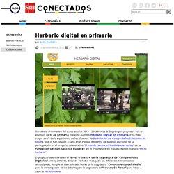 Herbario digital en primaria