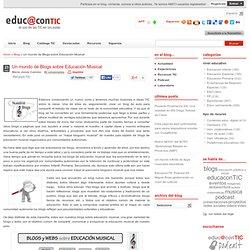 Un mundo de Blogs sobre Educación Musical