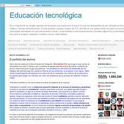 E-portfolio del alumno