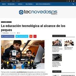 La educación tecnológica al alcance de los peques