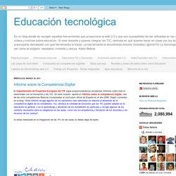 Educación tecnológica: marzo 2011