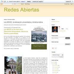 Los MOOC, la educación universitaria y América latina.