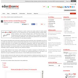 Quinto número revista EducaconTIC