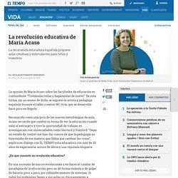 La educadora española María Acaso en entrevista con EL TIEMPO - Educación