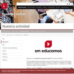 Educamos SM-Plataforma de gestión integral de los centros educativos