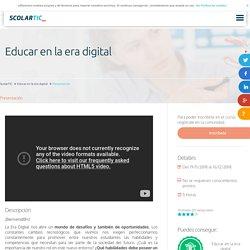 Educar en la era digital