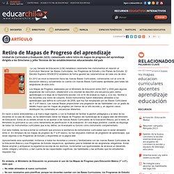Retiro de Mapas de Progreso del aprendizaje